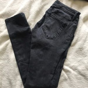 Mavi stretchy black skinny denim